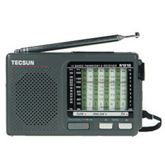TECSUN R1210 R-1210 Handheld Portable Full Wave Band FM / MW / SW Radio High sensitivity FM Receiver