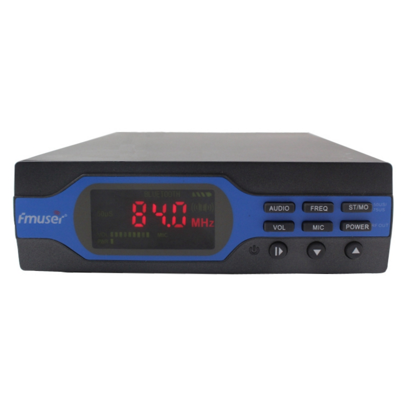 FMUSER NEW 1W FM Transmitter FM radio broadcaster 50usd/70us Pre-emphasis 0-1w Power Output Adjustable FU-X01A