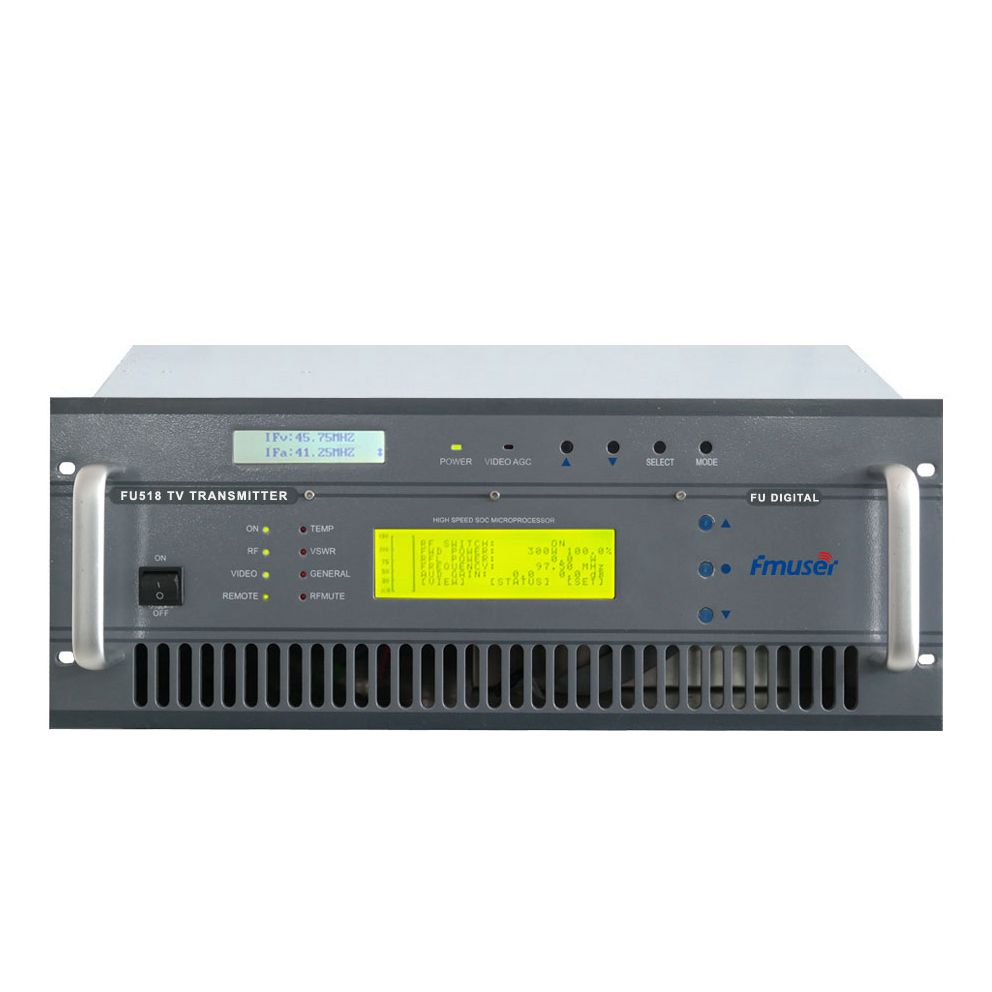 CZH518D-50W 50w DVB-T Digital TV Territorial Broadcast Transmitter for Professional TV Station