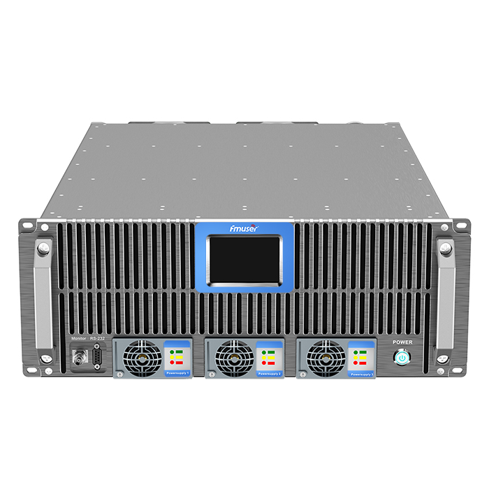 FMUSER FSN-5000T 5KW 5000Watt FM-радыёперадатчык 4U Компактны памер для FM-радыёстанцыі